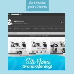 Site Opening PSD